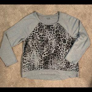 Leopard French Terry Sweatshirt